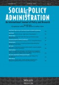 Special Issue: Occupational welfare – still divisive in welfare states